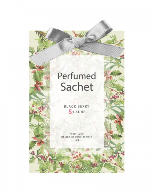 PERFUMED SACHET - BLACK BERRY & LAUREL