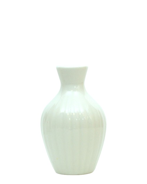 WHITE CERAMIC JAR 3(100ml)