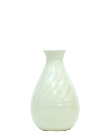 WHITE CERAMIC JAR 2(100ml)